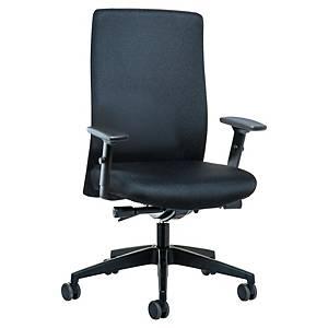 Cadeira com mecanismo sincronizado Prosedia Topline 4142 - preto