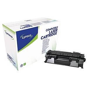Lasertoner Lyreco HP CE505A kompatibel, 2 300 sidor, svart