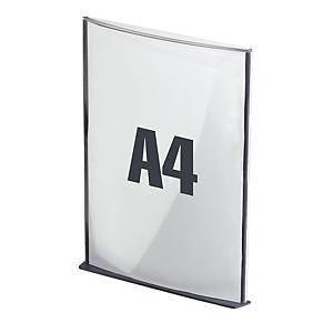 Paperflow Cinatur deurbord, A4, anthraciet, per stuk