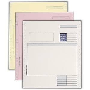 Sage Compatible Continuous Invoice 3 Part - Box of 750