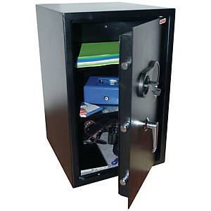 RESKAL SAFE COFFER WITH COMBINATION LOCK 77L