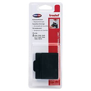 TRODAT 5206/5460 SELF INKING REFILL PAD BLACK - PACK OF 2