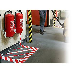 Tesa Signal/Marking & Barrier Tape 50mm X 66M Red/White