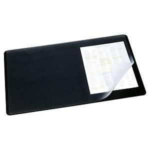 Sous-main Durable - avec rabat - 65 x 52 cm - noir
