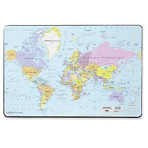 DURABLE 7211 WORLD DESK MAT 53X40CM