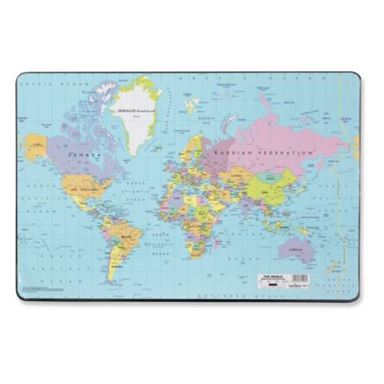 Durable 7211 world desk mat 53x40cm gumiabroncs Choice Image