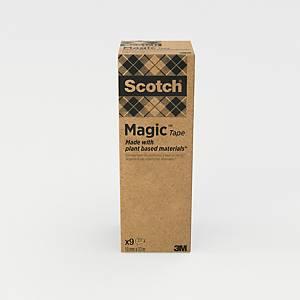 Neviditelné lepicí pásky Scotch Magic 900, 9 ks/balení