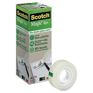 Scotch Magic Tape A Greener Choice 19mmx3- pack of 9
