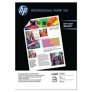 Pacote de 150 folhas de papel fotográfico laser HP CG955A - A4 - 150 g/m²