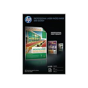 Fotopapier HP CG966A beidseitig beschichtet A4 hochglanz 200g/m2 100 Blatt
