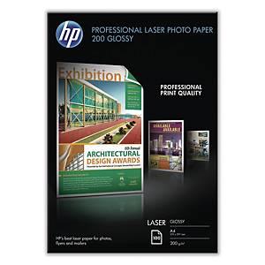 HP 광택 레이저 포토용지 CG966A A4 200g 100매