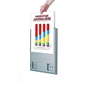 Panneau d'information Paperflow 4066, A4, le paquet de 4