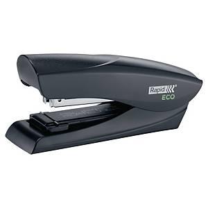 Rapid Fashion Eco Half-strip nietmachine, zwart, 25 vel