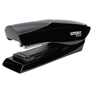 RAPID ECO HALF STRIP STAPLER BLACK