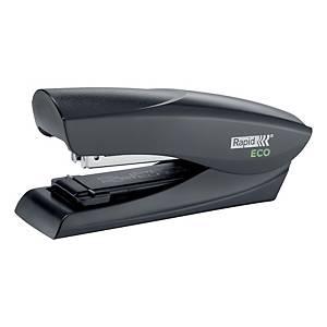 Agrafador de secretária Rapid Eco Half Strip - preto