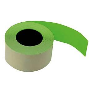 Etykiety do metkownic 26 x 16 mm, zielone, proste, rolka 700 sztuk