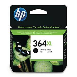HP 364XL High Yield Black Original Ink Cartridge (CN684EE)