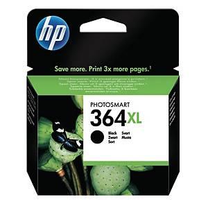 HP No. 364 XL CN684EE mustesuihkupatruuna musta