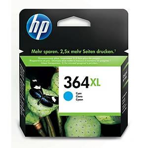 Cartucho de tinta HP 364XL - CB323EE - cian