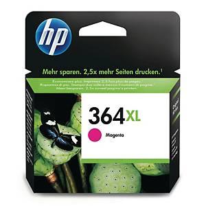 HP 364XL High Yield Magenta Original Ink Cartridge (CB324EE)