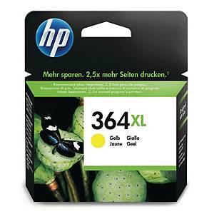 HP 364XL High Yield Yellow Original Ink Cartridge (CB325EE)