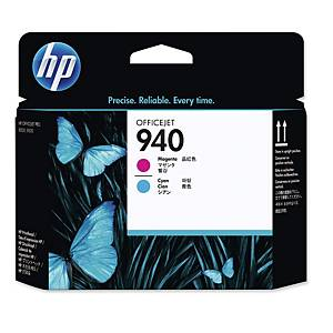 HP C4901A tête impression jet d encre nr.940 bleue/rouge [50.000 pages]