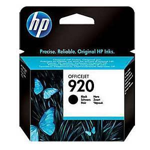 HP ตลับหมึกอิงค์เจ็ท รุ่น HP920 (CD971AA) สีดำ