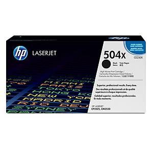HP 504X CE250X laservärikasetti musta
