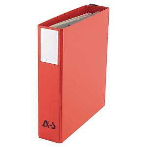 Classeur Arianex Systemes Innovation - dos 8 cm - rouge