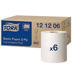 Handtuchrolle Tork 121206/ M2, 2-lagig, weiss