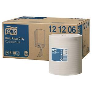 Pack de 6 bobinas secamanos Tork Universal M2 - 160 m -2 capas - blanco