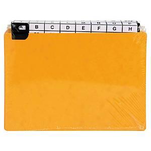 Intercalaire Exacompta pour boîte à fiches - 14,8 x 21 cm - 24 touches