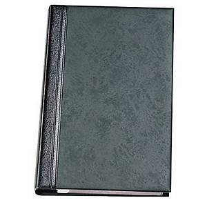 Porte-cartes de visite Elba Elégance - 29 x 16 cm - 160 cartes - noir