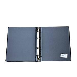 Ringordner ohne Papierblock, A5, schwarz