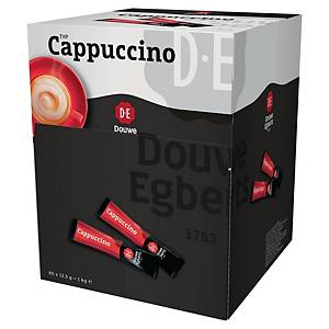 Douwe Egberts Cappuccino Coffee Sticks - Box of 80