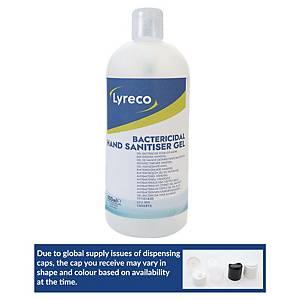 Lyreco bactericidal handgel pump 500ml