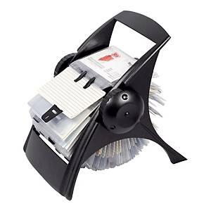 Ico forgatható névjegykártyatartó 400 darab névjegykártya számára, fekete