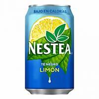 Pack de 24 latas de Nestea limão - 33 cl