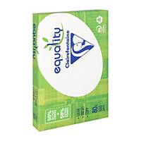 Clairefontaine Equality gerecycled wit A4 papier, 80 g, per 5 x 500 vellen