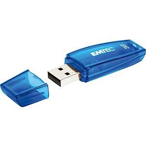 Speicher Stick Emtec C410, 2.0 USB, 32 GB, blau