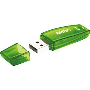 Speicher Stick Emtec C410, 2.0 USB, 64 GB, grün