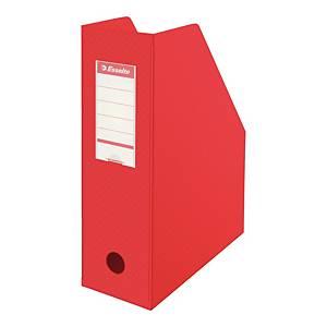 Stojak na katalogi ESSELTE składany, czerwony