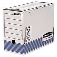 Bankers Box archive boxes 150 mm blue - pack of 10