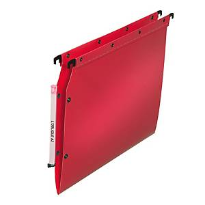 BX10 PP SUSP FILE 1FOLD RED
