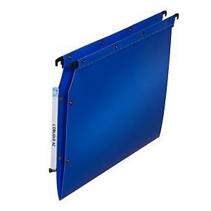 Dossier suspendu pour armoire Elba Ultimate - PP - dos V - bleu - par 10