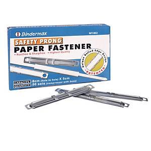Bindermax Metal Paper Fastener - Box of 50