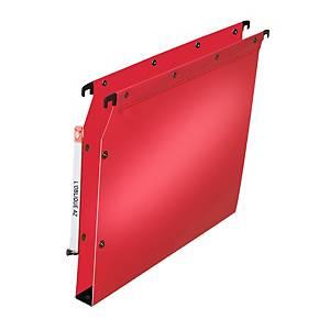 Dossier suspendu pour armoire Elba Ultimate - PP - dos 30 mm - rouge - par 10