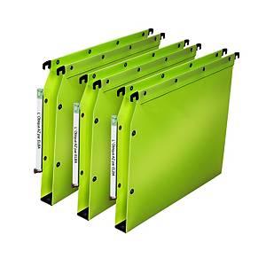 Dossier suspendu pour armoire Elba Ultimate - PP - dos 30 mm - vert - par 10