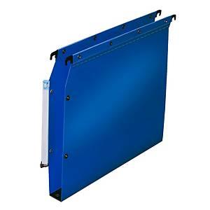 Dossier suspendu pour armoire Elba Ultimate - PP - dos 30 mm - bleu - par 10