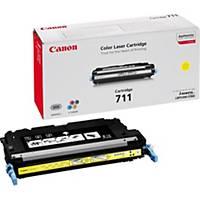 Canon laserový toner CRG-711 (1657B002), žlutý